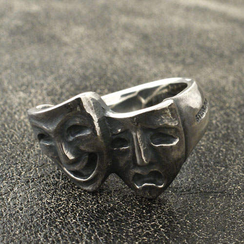 HEAVY MUSK RING TWO FACE