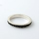 GARDEN OF EDEN ONYX Scroll Ring