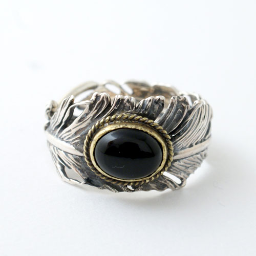 CG別注 Feather Onyx Ring