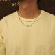 SIMPLE KIHEI CHAIN NECKLACE COATING