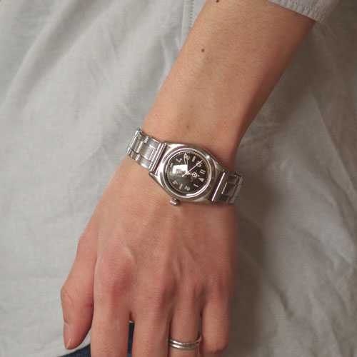 VAGUE WATCH VABBLE STAINLESS BELT 自動巻き