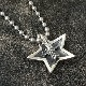SMALL STAR IN STAR PENDANT NEW
