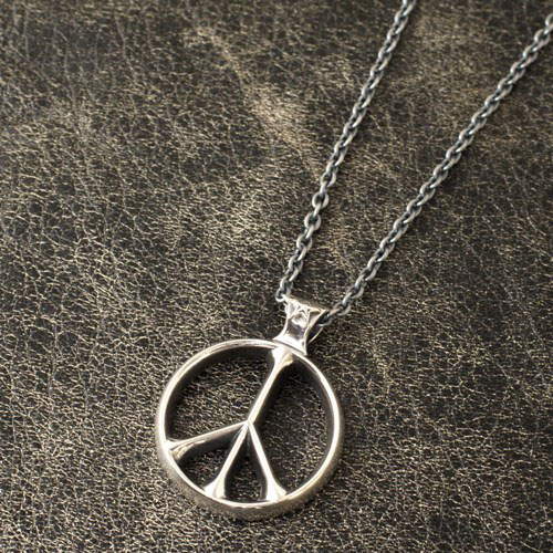 PEACE SIGN & STAR PENDANT