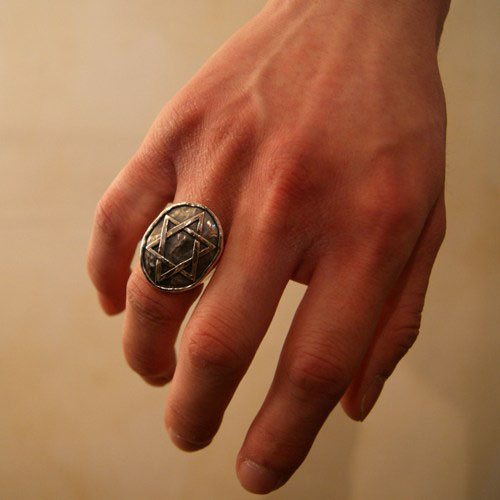 LUCIFER SILVER RING