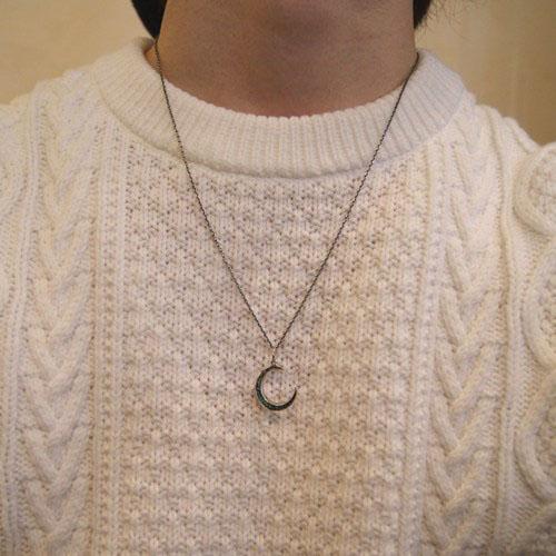 GARDEN OF EDEN Moon Necklace