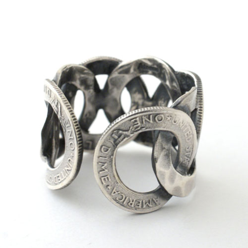 COIN STAMP RING