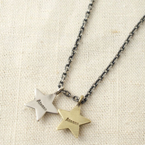 NEW MILITARY STAR W NECKLACE
