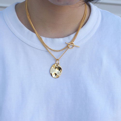 N103 SILVER925 WATER TOP NECKLACE