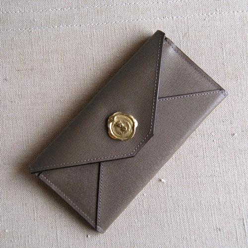 メール型長財布(牛革)