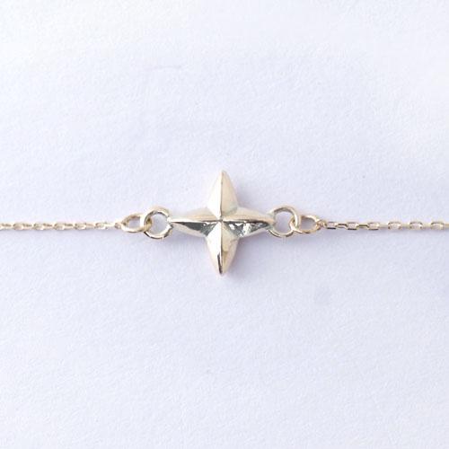 STAR CROSS BRACELET K10