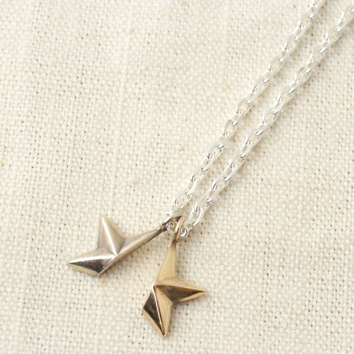 NEW MILITARY STAR SV&K10 NECKLACE