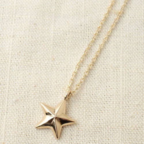 NEW MILITARY STAR K10 NECKLACE