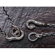 HORSE HOOK CHAIN/Silver