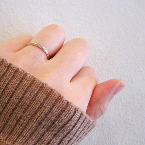 COMBI MILGRAIN RING 2.0mm