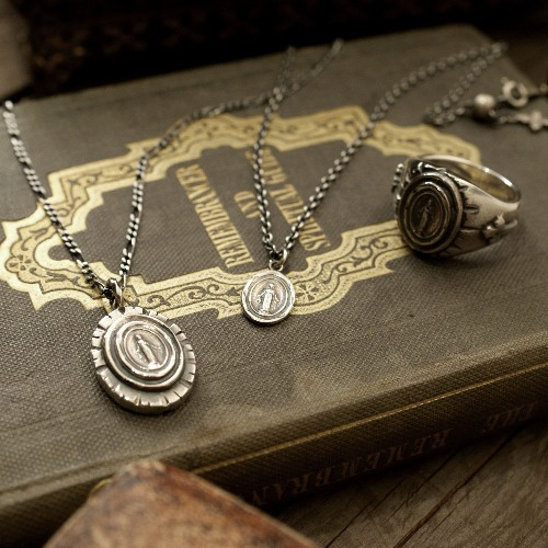 MEXICAN MARIA NECKLACE 斎藤工さん着用