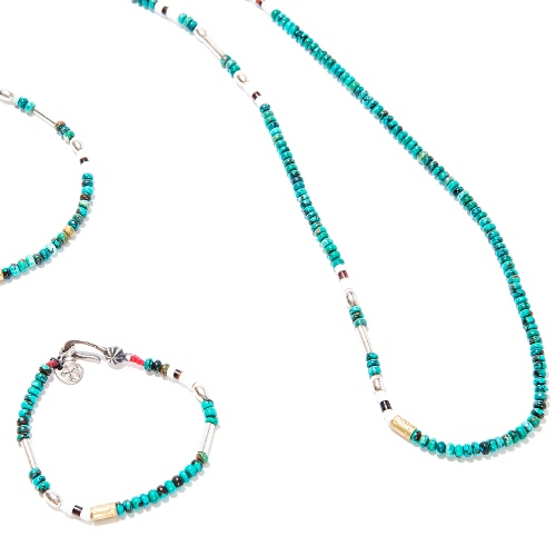 SILVER & TURQUOISE BZ BRACELET Hey!Say!JUMP 伊野尾さん着用