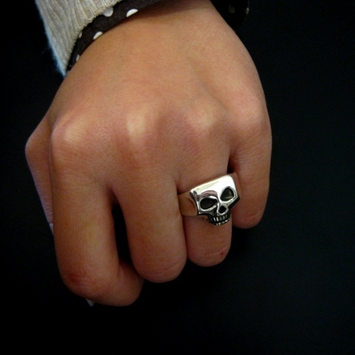 C*G限定 JIM SKULL RING-Solid Type