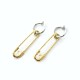 SAFTY PIN SET EARRINGS