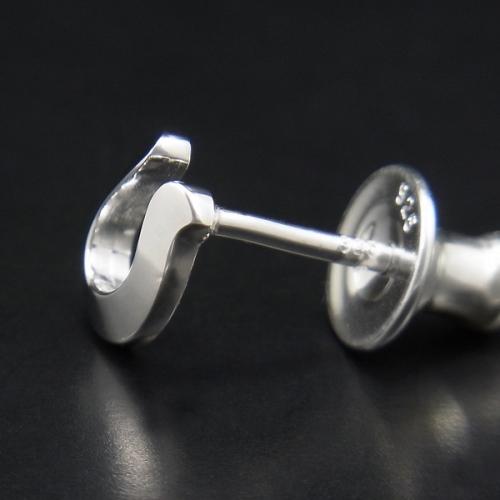 Horseshoe Pierce - Silver