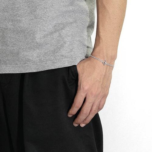 Classic Chain Bracelet - Silver SENSE掲載