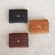 Pueblo Leather Flap Wallet