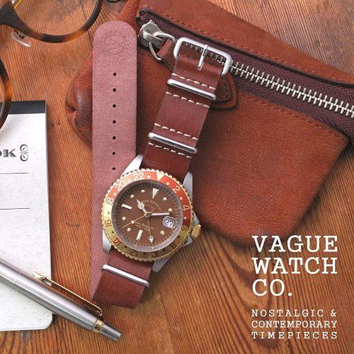 VAGUE WATCH BRWN GMT