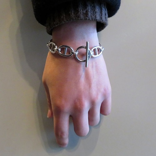 H MARINA CHAIN BRACELET NEW / COATING