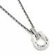 Horseshoe Amulet Necklace - Laurel