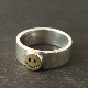 SMILE SILVER & BRASS RING S