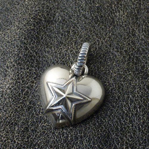 Heart & Sheriff Star PENDANT