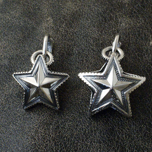 REVERSIBLE STAR ARROW VAIL PENDANT