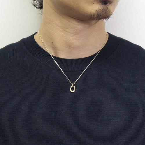 Horseshoe Amulet - K18Yellow Gold