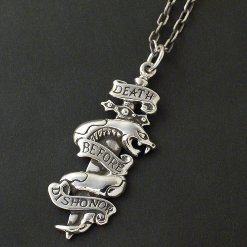 DEATH BEFOR DISHONOR NECKLACE