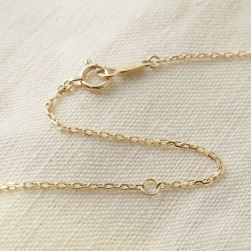 COIN-TAG NECKLACE / GOLD