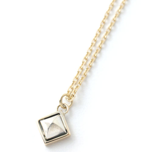 STUDS K10+SV NECKLACE