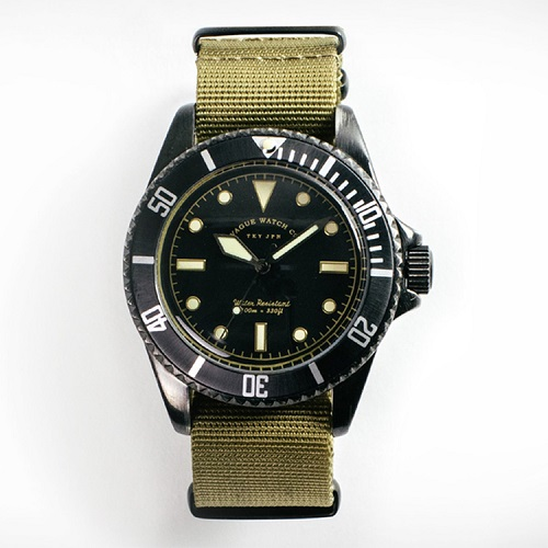 VAGUE WATCH BLK SUB