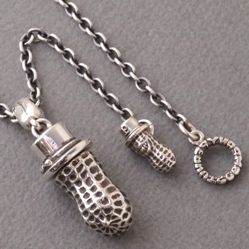 XLARGE PEANUTS/Silver+PEANUTS CHAIN/Silver
