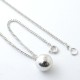 HARD BALL NECKLACE