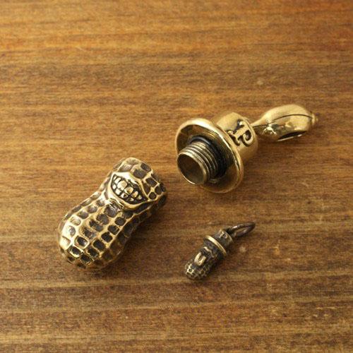 XLARGE PEANUTS/Brass+PEANUTS CHAIN/Brass