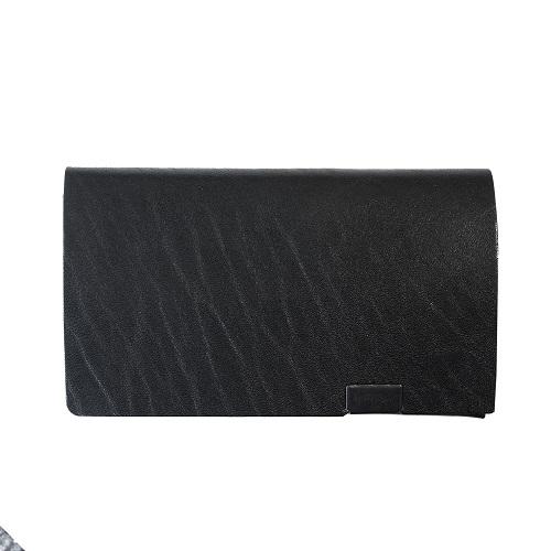 SHOSA・COIN CASE・BLACK×AURORA(ブラック黒×オーロラ内側)