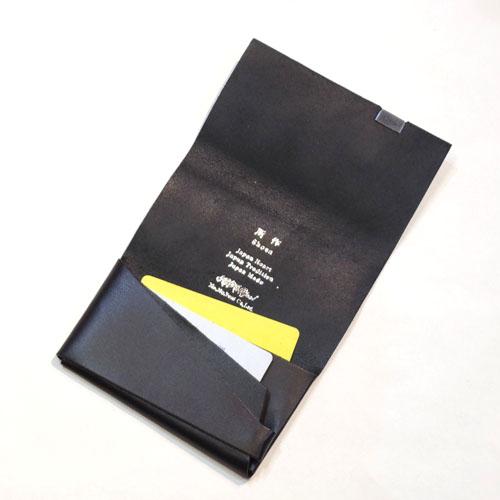 SHOSA・CARD CASE・BASIC BLACK