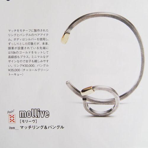 MATCH RING SV+K18 佐藤健さん着用