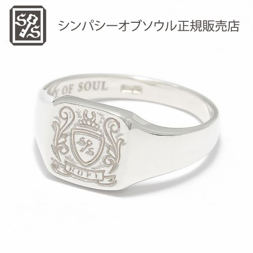 Small Signature Ring - Silver