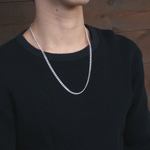 SILVER CHAIN NECKLACE TYPE3 佐藤健さん・J01川尻蓮さん着用
