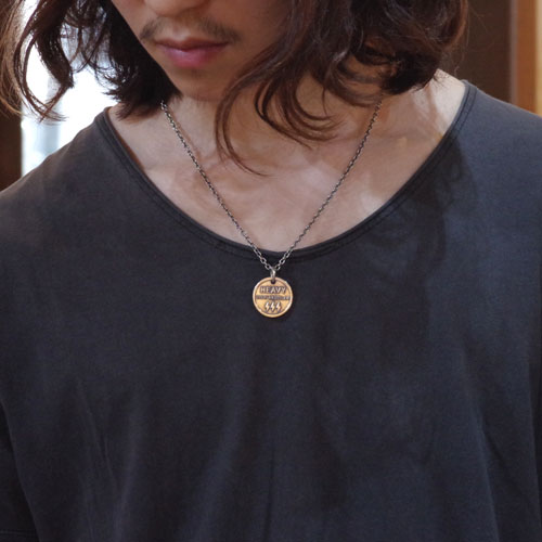 OUTLAW HANGING COINE NECKLACE WEB LIMITED