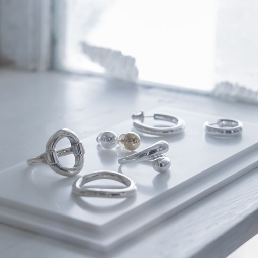LINK SINGLE RING CURVED