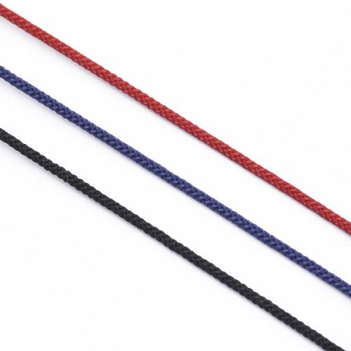 K18 Small Horseshoe Cord Bracelet-Plane