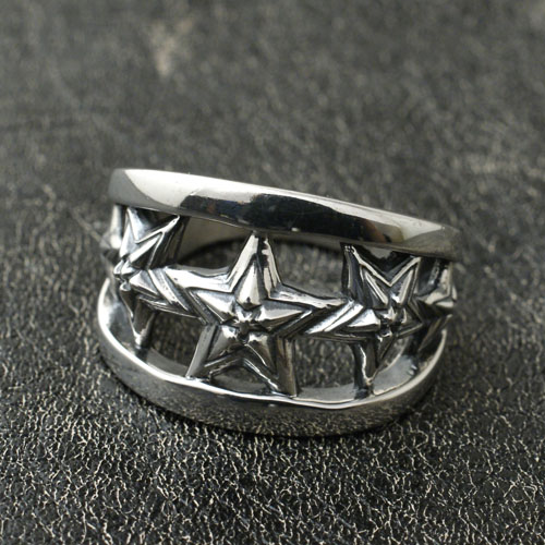 5 STAR IN STAR CUTOUT RING