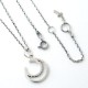 SV OPEN MOON NECKLACE