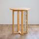 CANDY MOSAIC コーヒーテーブル 4本脚×タイル3列